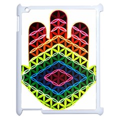Hamsa Of God Apple Ipad 2 Case (white) by CruxMagic