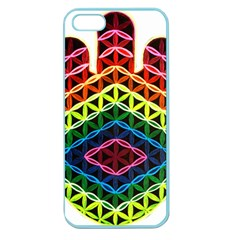 Hamsa Of God Apple Seamless Iphone 5 Case (color) by CruxMagic