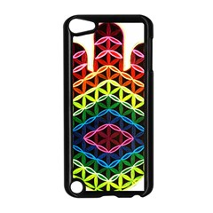 Hamsa Of God Apple Ipod Touch 5 Case (black) by CruxMagic