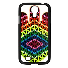 Hamsa Of God Samsung Galaxy S4 I9500/ I9505 Case (black) by CruxMagic