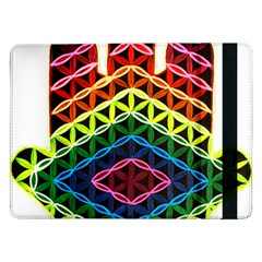 Hamsa Of God Samsung Galaxy Tab Pro 12 2  Flip Case by CruxMagic