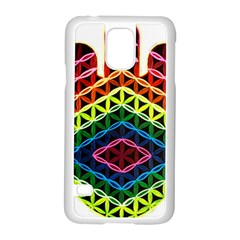 Hamsa Of God Samsung Galaxy S5 Case (white)