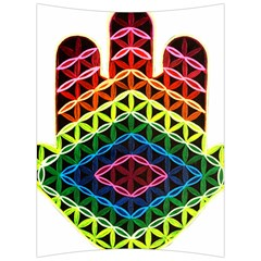 Hamsa Of God Back Support Cushion