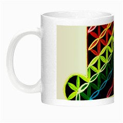 Hamsa Night Luminous Mugs by CruxMagic