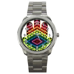 Hamsa Sport Metal Watch by CruxMagic