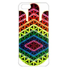 Hamsa Apple Iphone 5 Seamless Case (white) by CruxMagic