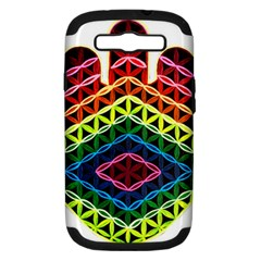 Hamsa Samsung Galaxy S Iii Hardshell Case (pc+silicone) by CruxMagic