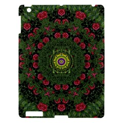Sunshine Mandala In Rose Heaven Apple Ipad 3/4 Hardshell Case by pepitasart