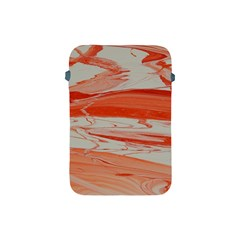Orange Swirl Apple Ipad Mini Protective Soft Cases by WILLBIRDWELL