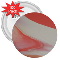 Martian Snow 3  Buttons (100 Pack)