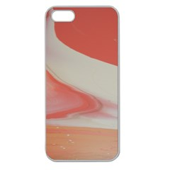Martian Snow Apple Seamless Iphone 5 Case (clear) by WILLBIRDWELL