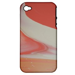 Martian Snow Apple Iphone 4/4s Hardshell Case (pc+silicone)