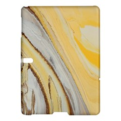 Yellow Jungle Samsung Galaxy Tab S (10 5 ) Hardshell Case  by WILLBIRDWELL