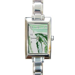 Envy Rectangle Italian Charm Watch