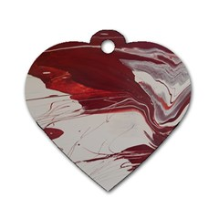 Turmoil Dog Tag Heart (one Side)