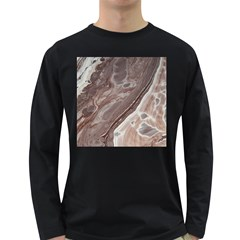 Mud Long Sleeve Dark T Shirt
