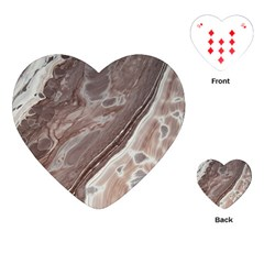 Mud Playing Cards (heart)