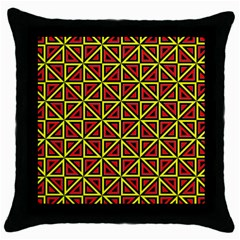 7 Throw Pillow Case (black)