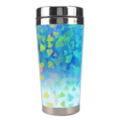Hearts Colors Stainless Steel Travel Tumblers by LoolyElzayat