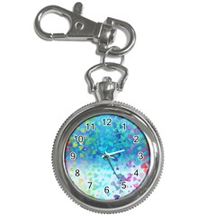 Hearts Colors Key Chain Watches
