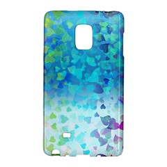 Hearts Colors Samsung Galaxy Note Edge Hardshell Case