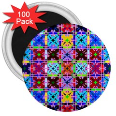 2 3  Magnets (100 Pack)