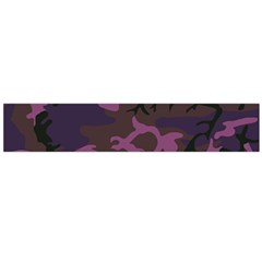 Camouflage Violet Large Flano Scarf  by snowwhitegirl