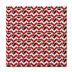 Camera Chevron Tile Coasters