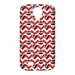 Camera Chevron Samsung Galaxy S4 Classic Hardshell Case (pc+silicone) by snowwhitegirl