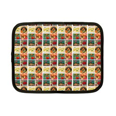 Victorian Fruit Labels Netbook Case (small) by snowwhitegirl