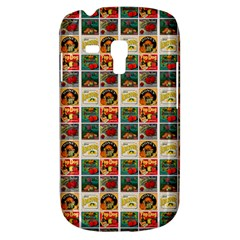 Victorian Fruit Labels Samsung Galaxy S3 Mini I8190 Hardshell Case