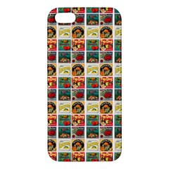 Victorian Fruit Labels Apple Iphone 5 Premium Hardshell Case