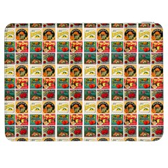 Victorian Fruit Labels Samsung Galaxy Tab 7  P1000 Flip Case