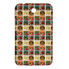 Victorian Fruit Labels Samsung Galaxy Tab 3 (7 ) P3200 Hardshell Case
