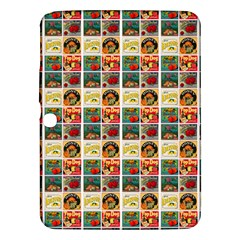 Victorian Fruit Labels Samsung Galaxy Tab 3 (10 1 ) P5200 Hardshell Case
