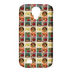 Victorian Fruit Labels Samsung Galaxy S4 Classic Hardshell Case (pc+silicone)