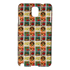 Victorian Fruit Labels Samsung Galaxy Note 3 N9005 Hardshell Case