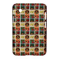 Victorian Fruit Labels Samsung Galaxy Tab 2 (7 ) P3100 Hardshell Case