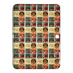 Victorian Fruit Labels Samsung Galaxy Tab 4 (10 1 ) Hardshell Case
