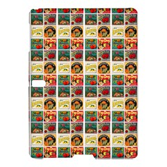 Victorian Fruit Labels Samsung Galaxy Tab S (10 5 ) Hardshell Case