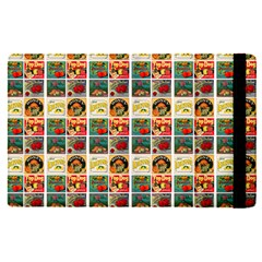 Victorian Fruit Labels Apple Ipad Pro 12 9   Flip Case