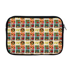 Victorian Fruit Labels Apple Macbook Pro 17  Zipper Case