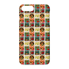 Victorian Fruit Labels Apple Iphone 8 Plus Hardshell Case