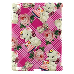 Retro Pets Plaid Pink Apple Ipad 3/4 Hardshell Case (compatible With Smart Cover)