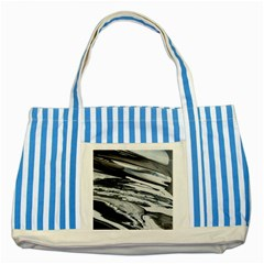 Space Orca Striped Blue Tote Bag