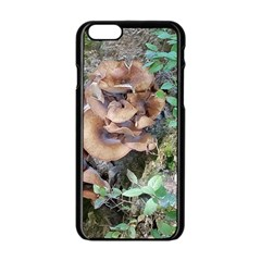 Abstract Of Mushroom Apple Iphone 6/6s Black Enamel Case by canvasngiftshop