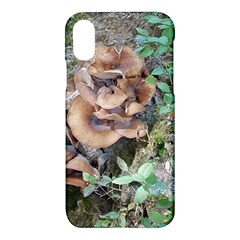 Abstract Of Mushroom Apple Iphone X Hardshell Case by canvasngiftshop