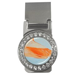 Orange And Blue Money Clips (cz)  by WILLBIRDWELL