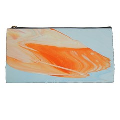 Orange And Blue Pencil Cases by WILLBIRDWELL