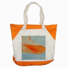 Orange And Blue Accent Tote Bag